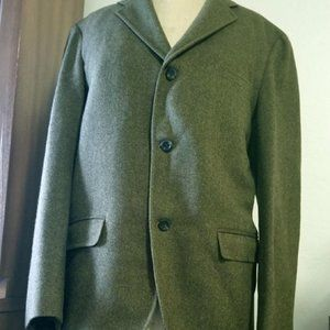 Other - Stunning VTG 60's 2 OR 3 Button Green Tweed Suit